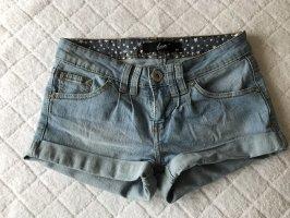 Denim Shorts cornflower blue-azure
