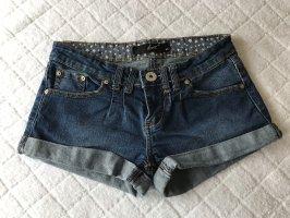 Denim Shorts dark blue-blue