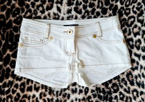 Kurze Jeans Shorts Hotpants NEU Weiß 34 XS von Melrose