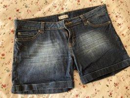 C&A Clockhouse Denim Shorts dark blue