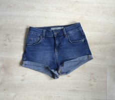 Subdued Pantaloncino di jeans blu acciaio Cotone