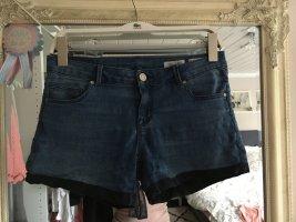 Kurze Jeansshorts in blau von Review Größe 27