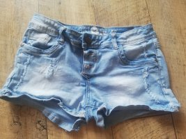 kurze knappe Jeansshort - 40