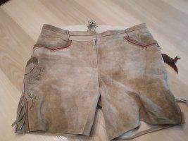 Spieht & Wensky Pantalon bavarois marron clair cuir