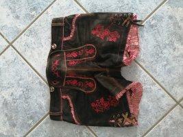 Moser Pantalón de cuero tradicional marrón