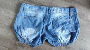 CLANDJONES Denim Shorts multicolored