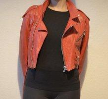 Vera Pelle Leather Jacket red