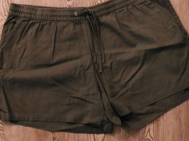 Kurze Short H&M Plus Size in khaki