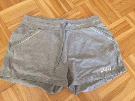 Asics Short gris clair coton
