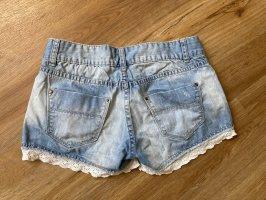 Amisu Hot pants blu