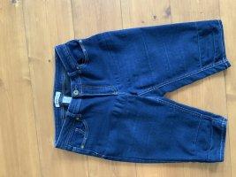 Blue Spice Jeans a 3/4 blu scuro Cotone