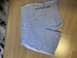 Pantalón corto deportivo blanco-gris claro