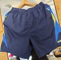 Saller Szorty sportowe niebieski-ciemnoniebieski