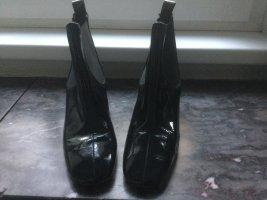 Topshop Slip-on laarzen zwart