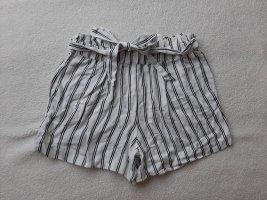 Pimkie Pantalone di lino bianco-nero