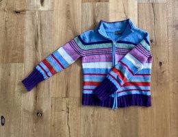 Calvin Klein Jeans Veste en tricot multicolore laine