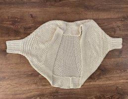 Esprit Szydełkowany sweter kremowy