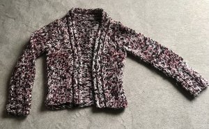 Turnover Veste tricotée en grosses mailles multicolore