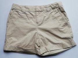 Kurze Vintage Hose in beige