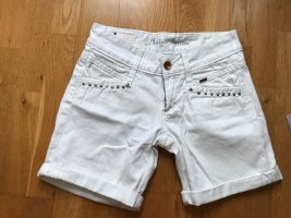 Kurze weiße Hose von Amisu Größe S 36 Bermuda Shorts