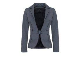 Kurzer, Blazer, tiefer Ausschnitt, tailliert, Business-Look