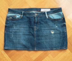 edc by Esprit Denim Skirt blue-azure
