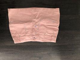 Gonna di jeans rosa chiaro