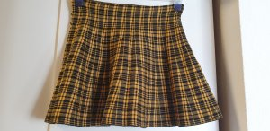 Primark Circle Skirt black-yellow