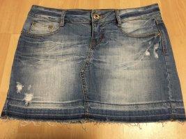 Tally Weijl Gonna di jeans blu Tessuto misto