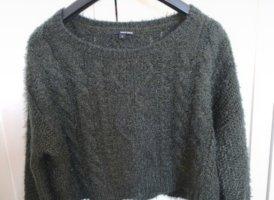 Tally Weijl Veste tricotée en grosses mailles vert foncé