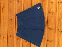 Sergio tacchini Plaid Skirt cornflower blue-steel blue
