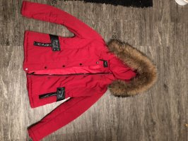 Attentif Parka rouge