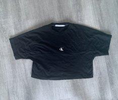 Calvin Klein T-shirt czarny-biały