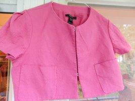 Kurzes Jackett Jäckchen rosa von Mango