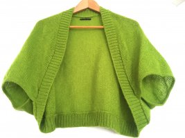 Sisley Knitted Bolero lime-green mohair