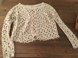 Crochet Shirt multicolored cotton