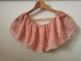 Crochet Shirt pink
