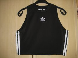 Adidas Originals Cropped top zwart Katoen