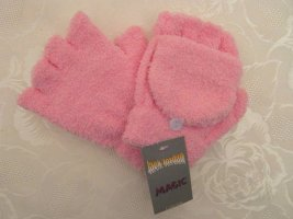 Fingerless Gloves pink