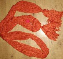 Charter Club Sciarpa lavorata a maglia ruggine