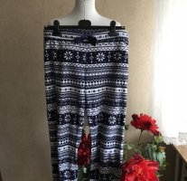 H&M Pyjama wit-donkerblauw