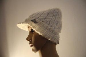 Protest Cappello a maglia crema Acrilico
