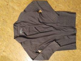 Cecil Gilet long tricoté gris foncé coton