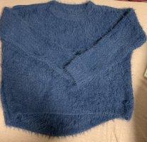Primark Sweter bożonarodzeniowy niebieski
