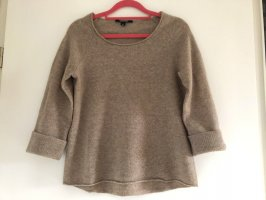 Comma Cashmere Jumper beige-natural white wool