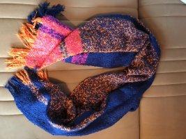Esprit Sciarpa con frange multicolore Acrilico