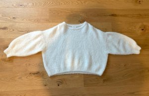 American Vintage Knitted Sweater natural white-oatmeal wool