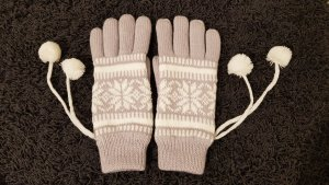 keine Ahnung Padded Gloves multicolored