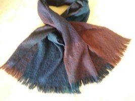 H&M Bufanda de lana multicolor Poliéster