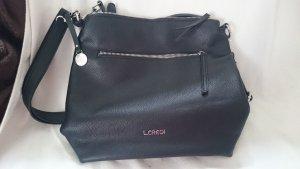L. Credi Handtasche schwarz